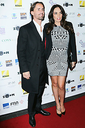 © London News Pictures. Jay Rutland and Tamara Ecclestone, Zoom Formula 1 Charity Photographic Auction, InterContinental London, London UK, 07 February 2014. Photo credit:  Richard Goldschmidt/LNP