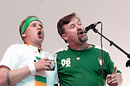 Leo Butler (right) and Dulahan performs during the St. Patrick's Day celebration at the Dublin Pub in downtown Dayton, Saturday, March 17, 2012.
