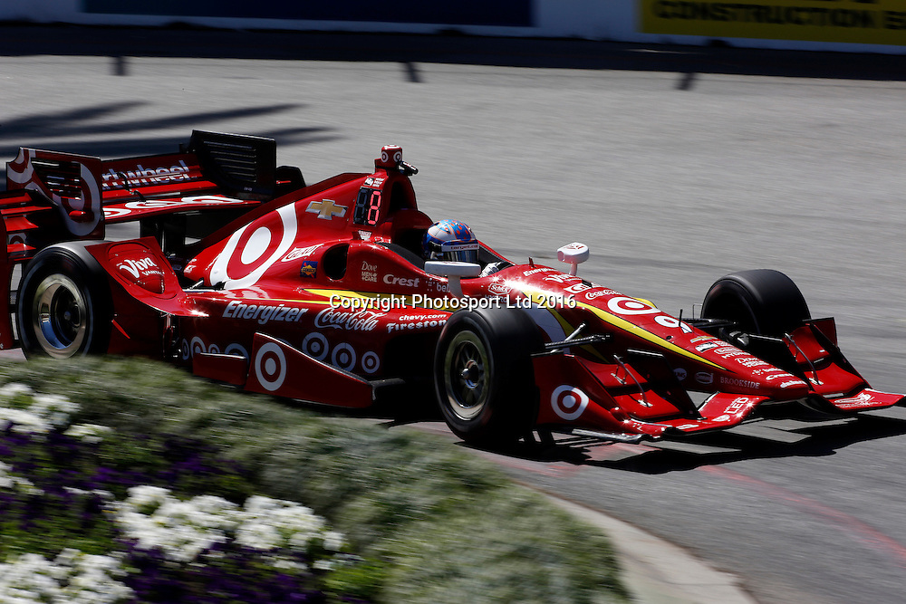 15-17 April, 2016, Long Beach, California USA<br /> 9 Scott Dixon<br /> &copy;2016, Phillip Abbott<br /> LAT Photo USA