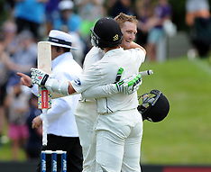 Dunedin-Cricket, New Zealand v Sri Lanka, 1st test, day 1