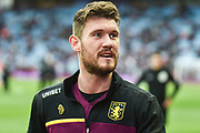 Aston Villa goalkeeper Jed Steer (12) during the EFL Sky Bet Championship match between Aston Villa and Derby County at Villa Park, Birmingham, England on 2 March 2019.