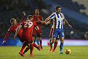 Brighton & Hove Albion midfielder Jesse Starkey (33) during the EFL Trophy Southern Group G match between U23 Brighton and Hove Albion and Leyton Orient at the American Express Community Stadium, Brighton and Hove, England on 8 November 2016.