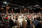 Crowd room atmosphere at the Beverly Hilton.