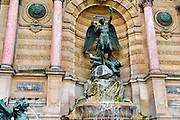 Fontaine Saint-Michel, Left Bank, Paris, France