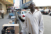 5 May 2010- New York, New York-  Alioune Naisse, Street Vendor and  Citizen Hero of Times Square Bombing Attempt who was the first to notice smoke coming from infamous Nissan Pathfinder truck at the corner of West 45th and Seventh Avenue in front of Viacom Building on May 5, 2010 in New York City.