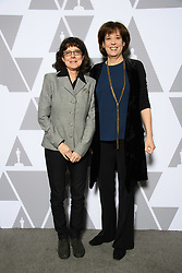 """Julie Cohen and Betsy West of the Oscar® nominated documentary feature """"RBG"""" prior to the Academy of Motion Picture Arts and Sciences' """"Oscar Week: Documentaries"""" event on Tuesday, February 19, 2019 at the Samuel Goldwyn Theater in Beverly Hills. The Oscars® will be presented on Sunday, February 24, 2019, at the Dolby Theatre® in Hollywood, CA and televised live by the ABC Television Network."""