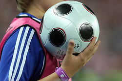 Ball during the UEFA EURO 2008 Quarter-Final soccer match between Croatia and Turkey at Ernst-Happel Stadium, on June 20,2008, in Wien, Austria. Turkey won after penalty shots. (Photo by Vid Ponikvar / Sportal Images)