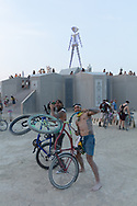 I love meeting people who are just so happy to be there. These guys from New Zealand we're having a great time. No burnier than thou nonsense just good vibes. Nice to meet you guys. My Burning Man 2018 Photos:<br />