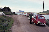 Waiting for the ferry, Lofoten 1972