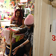 Linda and her mother live in a temporary small flat. Linda is not allowed to work, to receive any support until her permit to stay in the UK is granted. The pending eviction notice leaves her in very vulnerable condition.