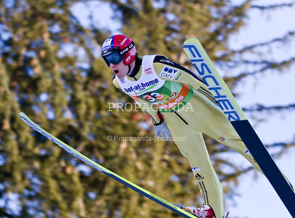 03.01.2012, Olympiaschanze/ Bergisel Stadion, AUT, 60. Vierschanzentournee, FIS Weltcup, Qualifikation, Ski Springen, im Bild Jan Matura (CZE) // Jan Matura of Czech Republic during qualification at the 60th Four-Hills-Tournament of FIS World Cup Ski Jumping at Olympiaschanze / Bergisel Stadion, Austria on 2012/01/03. EXPA Pictures © 2012, PhotoCredit: EXPA/ P.Rinderer