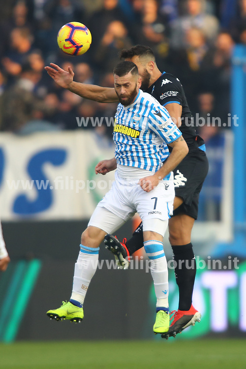 "Foto Filippo Rubin<br /> 01/12/2018 Ferrara (Italia)<br /> Sport Calcio<br /> Spal - Empoli - Campionato di calcio Serie A 2018/2019 - Stadio ""Paolo Mazza""<br /> Nella foto: MIRCO ANTENUCCI (SPAL)<br /> <br /> Photo Filippo Rubin<br /> December 01, 2018 Ferrara (Italy)<br /> Sport Soccer<br /> Spal vs Empoli - Italian Football Championship League A 2018/2019 - ""Paolo Mazza"" Stadium <br /> In the pic: MIRCO ANTENUCCI (SPAL)"