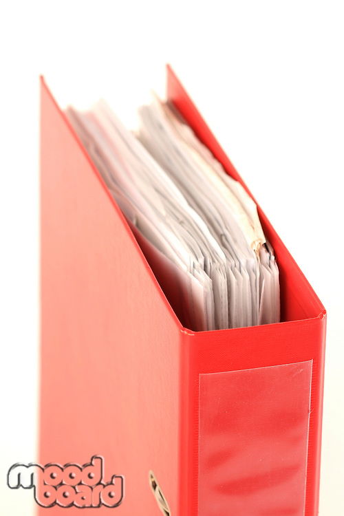 Archive folder - close-up