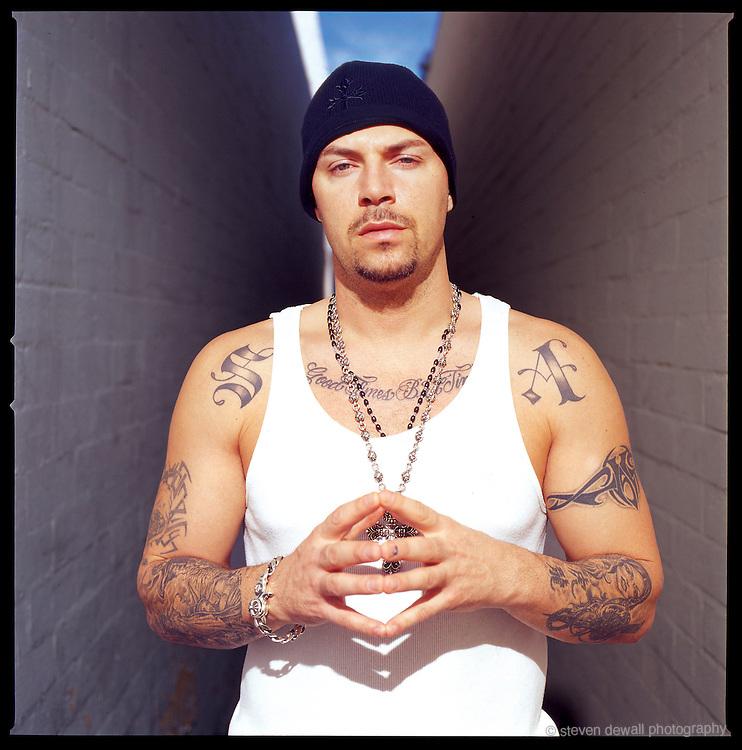 DJ Muggs of Cypress Hill in Burbank, CA.