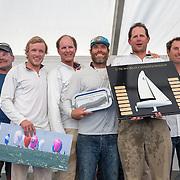 championnat du monde de J70 à La Rochelle en 2015 : Remise des prix
