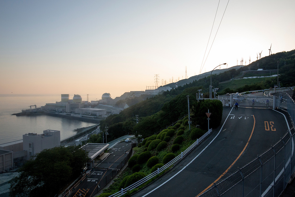 EHIME, JAPAN - AUGUST 12 : Ikata Nuclear Power Plant is seen during the day of the restarting of a nuclear reactor on August 12, 2016 in Ikata, Ehime prefecture, northwestern Shikoku, Japan. The Shikoku Electric Power Company restarted the plant's No.3 reactor at around 9 AM on Friday. It is the third plant to go online under new regulations issued after the Fukushima Daiichi nuclear disaster. (Photo by Richard Atrero de Guzman/NURPhoto)