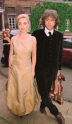 MISS JEANNE MARINE and BOB GELDOF at a<br />  ball in London on 18th June 1998.MIO 13