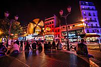 Le Moulin Rouge, Pigalle