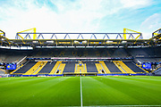 General view inside Signal Iduna Park stadium ahead of the Champions League round of 16, leg 2 of 2 match between Borussia Dortmund and Tottenham Hotspur at Signal Iduna Park, Dortmund, Germany on 5 March 2019.