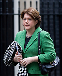 © Licensed to London News Pictures. 05/04/14 Pressure grows on Maria Miller as it emerges that she warned Commons standards Commissioner  FILE PICTURE DATED 03/12/2012. London, UK. The British Secretary of State for Culture, Media and Sport Maria Miller is seen on Downing Street in London today (03/12/12). Photo credit: Matt Cetti-Roberts/LNP