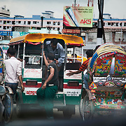 Another traffic jam in Cantral Dhaka.