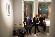 BRETT SYKES; ROSEANN BENNET;, BILL WYMAN - REWORKED' , Photographs by Bill Wyman and reworks by Gerald Scarfe, Pam Glew, Dale Marshall, Penny and James Mylne, Rook & Raven Gallery: 7-8 Rathbone Place, London. 26 February 2013