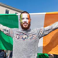 Kris Flynn from Ennis enjoying the 2015 Ennis St Patrick's day Parade