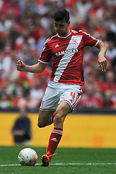 Daniel Ayala Middlesbrough, Middlesbrough v Norwich, Sky Bet Championship, Play Off Final, Wembley Stadium, Monday  25th May 2015