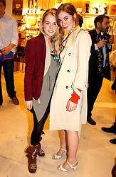 Left to right, MARY CHARTERIS and ANOUSKA GERHAUSER daughter of Tamara Beckwith at a party to celebrate the opening of the new H&M Flagship Store at 17-21 Brompton Road, London SW3 on 23rd March 2005.<br />