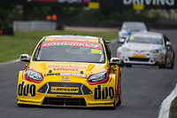 #300 Luke Davenport Team Shredded Wheat Racing with Duo  Ford Focus ST  during Round 4 of the British Touring Car Championship  as part of the BTCC Championship at Oulton Park, Little Budworth, Cheshire, United Kingdom. May 20 2017. World Copyright Peter Taylor/PSP.