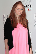 Feb 24, 2015 - Elle Style Awards 2015, Sky Garden @ The Walkie Talkie Building, London<br /> <br /> Pictured:  Lily Cole<br /> ©Exclusivepix Media