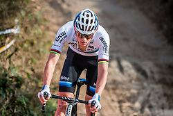 Mathieu VAN DER POEL (NED) during the Men Elite race at the 2018 Telenet Superprestige Cyclo-cross #1 Gieten, UCI Class 1, Gieten, Drenthe, The Netherlands, 14 October 2018. Photo by Pim Nijland / PelotonPhotos.com | All photos usage must carry mandatory copyright credit (Peloton Photos | Pim Nijland)