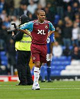 Photo: Steve Bond.<br />Birmingham City v West Ham United. The FA Barclays Premiership. 18/08/2007. Keiron Dyer lines up for West Ham