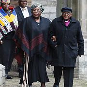 NLD/Delft/20131102 - Herdenkingsdienst voor de overleden prins Friso, Desmond Tutu en Nomalizo Leah Shenxane