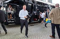 EINDHOVEN - Feyenoord - Southampton FC , Voetbal , Voorbereiding , Oefenwedstrijd , Seizoen 2015/2016 , Stadion de Kuip , 23-07-2015 , Hoofdtrainer van Southampton Ronald Koeman komt aan bij de Kuip