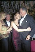 Countess Ludovico del Balzo and Baron thierry van Zuylen, Cartier party. Annabels. Dec, 2001. © Copyright Photograph by Dafydd Jones 66 Stockwell Park Rd. London SW9 0DA Tel 020 7733 0108 www.dafjones.com