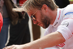June 10, 2017 - Berlin, Berlin-Tempelhof, Germany - The photo shows Nick Heidfeld on the Formula e race track on the former grounds of the Berlin airport in Berlin-Tempelhof. (Credit Image: © Simone Kuhlmey/Pacific Press via ZUMA Wire)