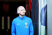 Peterborough Utd forward Marcus Maddison (21) arriving in the stadium before the EFL Sky Bet League 1 match between Doncaster Rovers and Peterborough United at the Keepmoat Stadium, Doncaster, England on 9 February 2019.