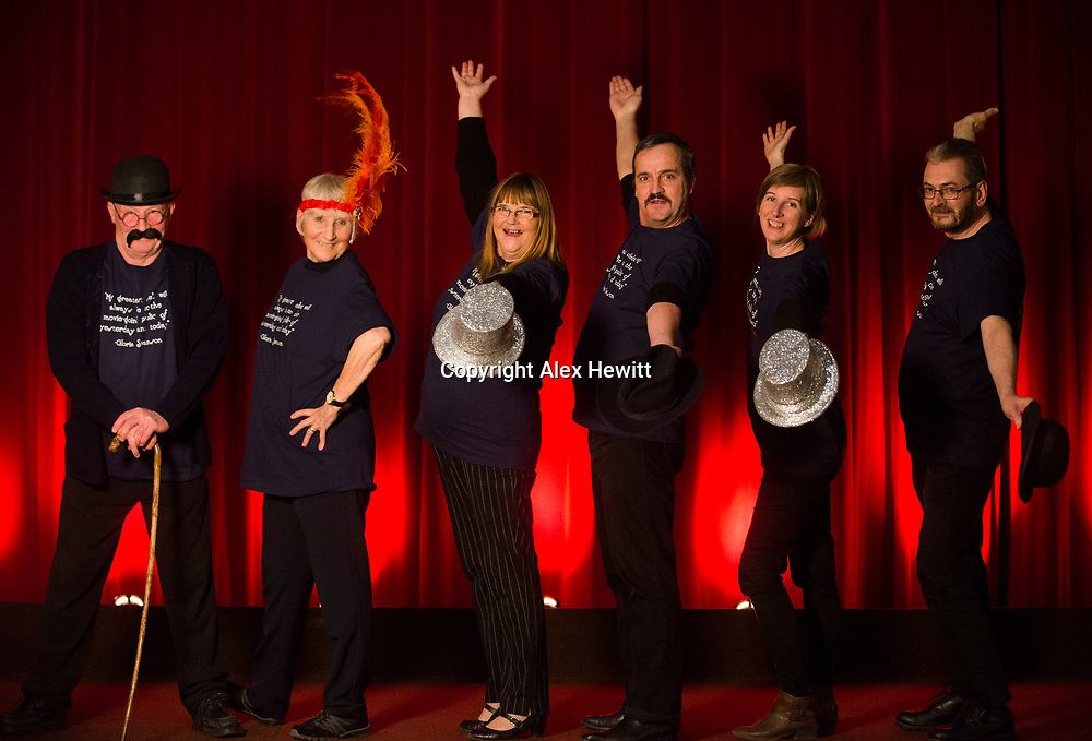 Volunteers at the Bo'Ness Hippodrome Festival of Silent Cinema look forward to welcoming you to the 2017 festival! <br /> <br /> picture by Alex Hewitt<br /> alex.hewitt@gmail.com<br /> 07789 871 540