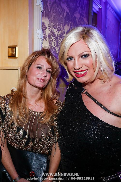 NLD/Amsterdam/20121112 - Beau Monde Awards 2012, Claudia van Zweden en Mayday