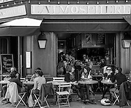 cafe near Canal Saint-Martin, Paris