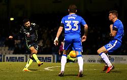Liam Sercombe of Bristol Rovers scores a goal to make it 4-1 - Mandatory by-line: Robbie Stephenson/JMP - 16/12/2017 - FOOTBALL - MEMS Priestfield Stadium - Gillingham, England - Gillingham v Bristol Rovers - Sky Bet League One