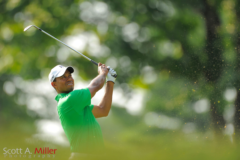 Tiger Woods during the third round of the AT&T National at Congressional Country Club on June 30, 2012 in Bethesda, Maryland. ..©2012 Scott A. Miller