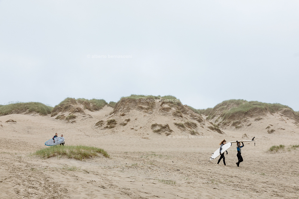 Borestrande, one of the longest beach with the best conditions for Kite and surfing