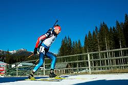 SHIPULIN Anton (RUS) competes during Men 15 km Mass Start at day 4 of IBU Biathlon World Cup 2014/2015 Pokljuka, on December 21, 2014 in Rudno polje, Pokljuka, Slovenia. Photo by Vid Ponikvar / Sportida