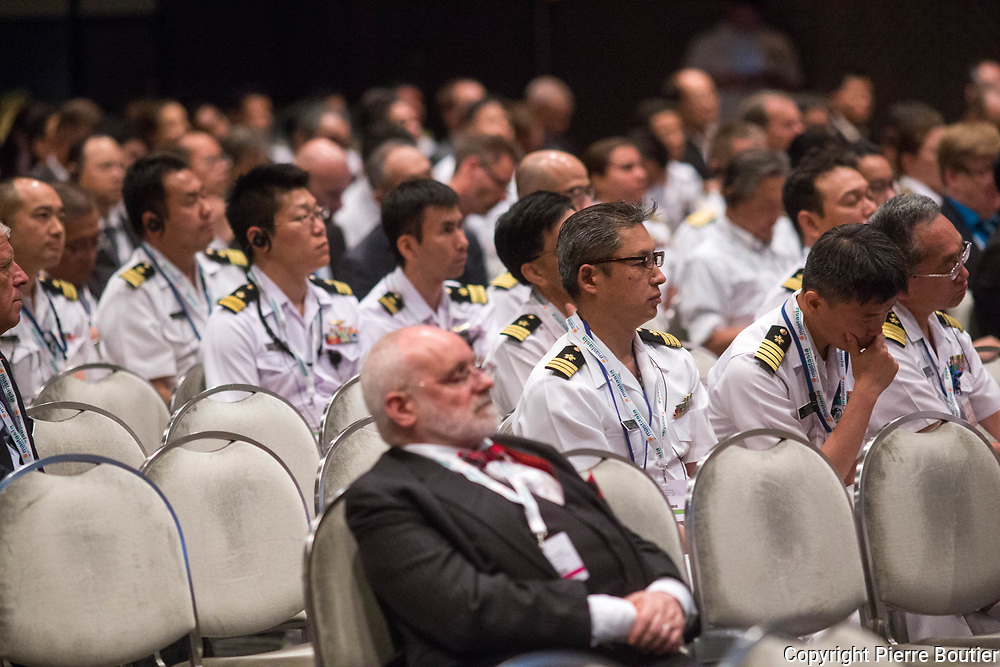 June 12 ,2017,Tokyo, Mast Asia  Maritime system and Technologies for securities and Safety , marine officers  attending  conference  calls  cooperation on maritime policies from  US Asia pacific and European perspectives and  former admiral Kaneda  , since north Korean  crisis, maritime  defence  sector and  industries  growth, and  maritime defence , collaborate internationally sectors  . Pierre Boutier
