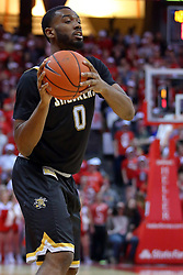 14 January 2017:  Rashard Kelly during an NCAA  MVC (Missouri Valley conference) mens basketball game between the Wichita State Shockers the Illinois State Redbirds in  Redbird Arena, Normal IL