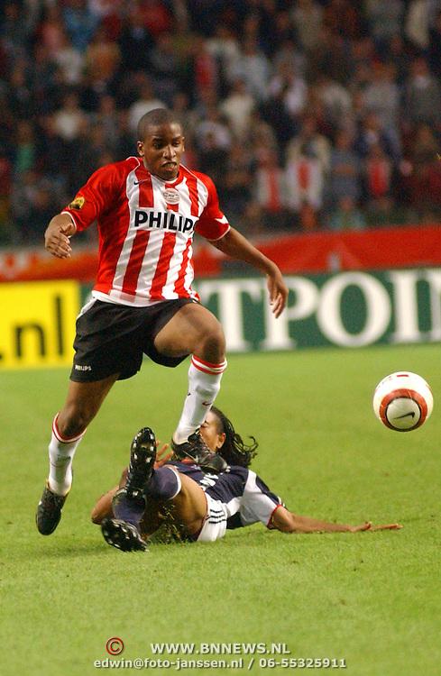 NLD/Amsterdam/20050805 - Johan Cruijffschaal 2005, PSV - Ajax, Jefferson Farfán, Urby Emanuelson