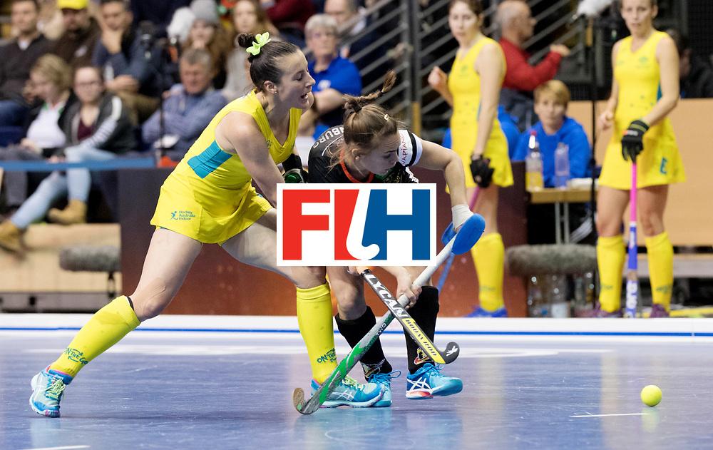 BERLIN - Indoor Hockey World Cup<br /> Women: Germany  - Australia<br /> foto: Lisa ALtenburg.<br /> WORLDSPORTPICS COPYRIGHT FRANK UIJLENBROEK