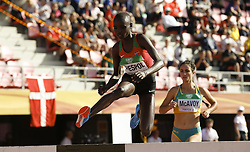 July 10, 2018 - Tampere, Suomi Finland - 180710 Friidrott, Junior-VM, Dag 1: Celliphine Chepteek Chespol KEN competes in 3000 meters steeplechase during the IAAF World U20 Championships day 1 at the Ratina stadion 10. July 2018 in Tampere, Finland. (Newspix24/Kalle Parkkinen) (Credit Image: © Kalle Parkkinen/Bildbyran via ZUMA Press)